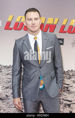 Dutch premiere of 'Logan Lucky' at the Pathé Tuschinski in Amsterdam, Netherlands.  Featuring: Channing Tatum Where: - Stock Photo