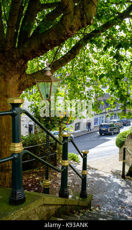 Around Great Malvern, a small country town in worcestershire England UK Bellvue Terrace - Stock Photo