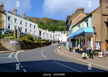 Around Great Malvern, a small country town in worcestershire England UK - Stock Photo