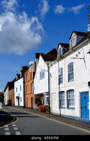 Around Upton-upon-Severn Worcestershire england UK - Stock Photo