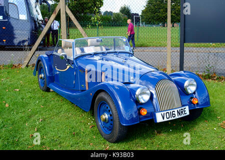 Around Great Malvern, a small country town in worcestershire England UK Morgan cars - Stock Photo