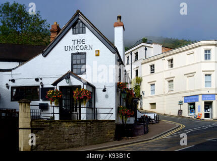 Around Great Malvern, a small country town in worcestershire England UK The Unicorn - Stock Photo