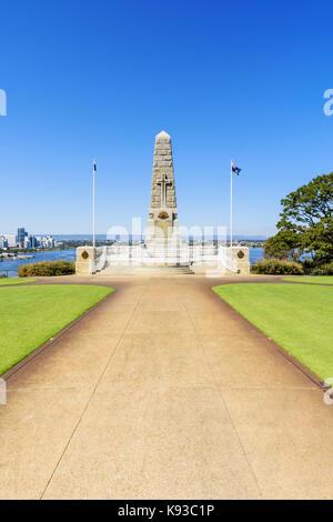 State War Memorial, Kings Park, Perth, Western Australia - Stock Photo