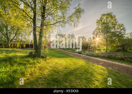 Cottage In Pastoral Countryside Landscape In The South Of