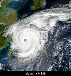 Tropical storm. Elements of this image are furnished by NASA - Stock Photo