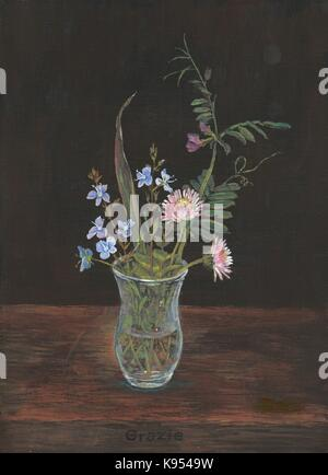 Blumenvase Miniatur - Stock Photo