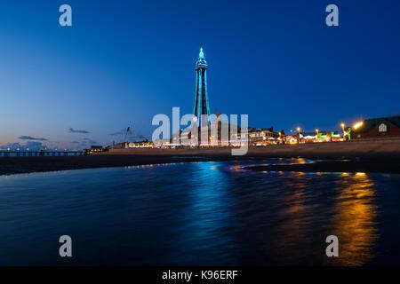 Blackpool Illuminations - Stock Photo