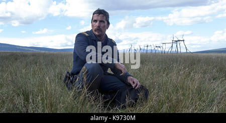 Hostiles is a 2017 period drama film directed by Scott Cooper. It stars Christian Bale, Rosamund Pike, Wes Studi, - Stock Photo
