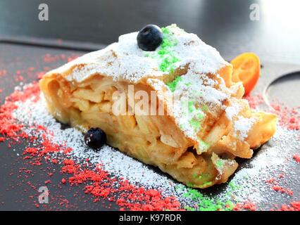 Photo of macro dessert charlotte - Stock Photo