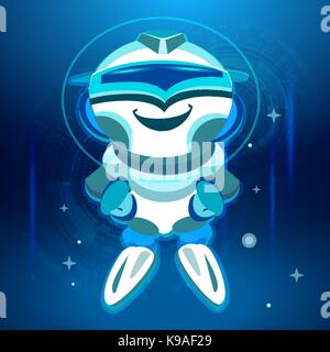 Bot. Chatbot. Robot in Vector - Stock Photo