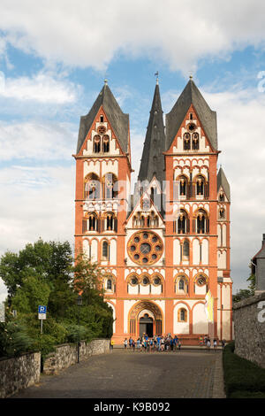 Limburg cathedral, Germany, Europe. - Stock Photo