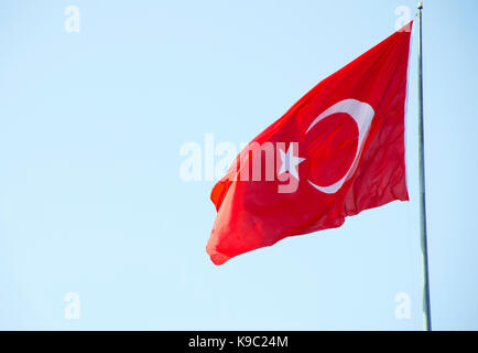 Turkish Flag - Stock Photo