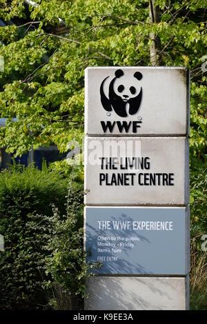 WWF Living Planet Centre - Stock Photo