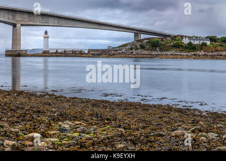 Skye Bridge, Isle of Skye, Scotland, United Kingdom - Stock Photo