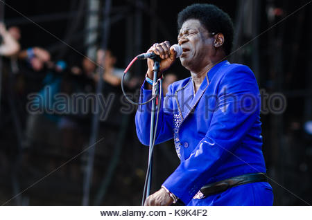 Chicago, USA. 3rd Aug, 2017. Charles Bradley performs at Lollapalooza in Chicago, IL on August 3, 2013. Credit: - Stock Photo