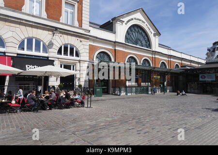 London Transport Museum Covent Garden - Stock Photo