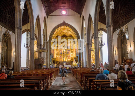 La Sé,Cathedral, Funchal, Madeira, Portugal - Stock Photo