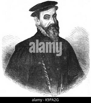 P618 Sir Thomas Gresham, Founder of the Royal Exchange - Stock Photo