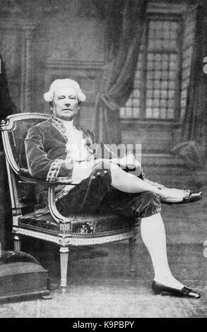 Portrait of Count Friedrich Ferdinand von Beust - Stock Photo