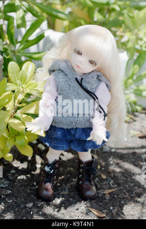 Doll redin bjd - Stock Photo