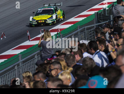 Motorsports: DTM 08 Spielberg 2017,      Schaeffler Audi RS 5 DTM #99 (Audi Sport Team Phoenix), Mike Rockenfeller - Stock Photo