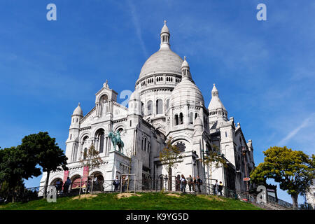 View from Montmartre, Paris 18th, france - Stock Photo