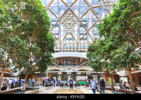 GLASS ROOF WINTER GARDEN ATRIUM (©SKIDMORE OWINGS & MERRIL 2004) GM ...
