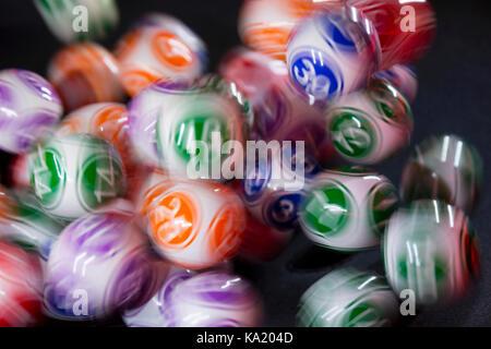 Marble gambling machine gambling hockey lines