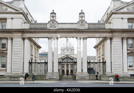 Government Buildings, Dublin, Ireland - Stock Photo
