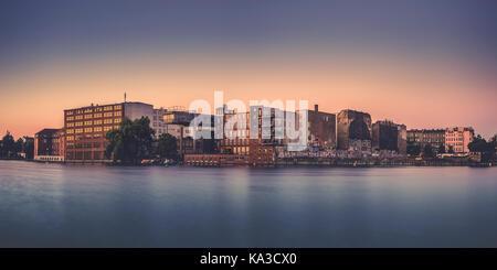 Berlin Kreuzberg at sunrise. - Stock Photo
