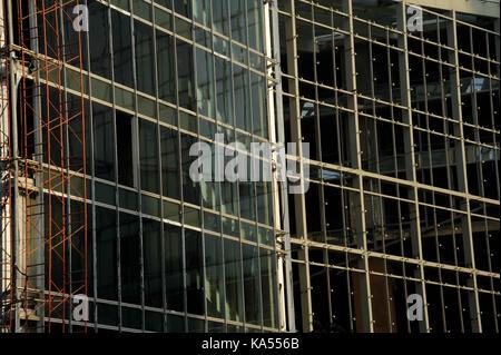 building Under Construction, mumbai, maharashtra, India, Asia - Stock Photo