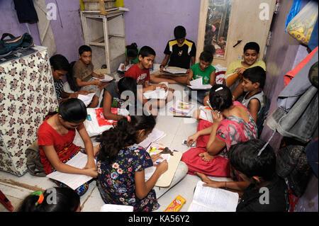Children in dharavi slum bombay mumbai maharashtra - The living room mumbai maharashtra ...