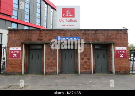 Emirates Old Trafford Cricket Ground - Stock Photo