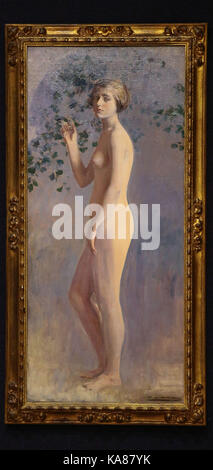 London, UK. 25th Sep, 2017. 'Desnude' by Ramon Casas (Spanish 1866-1932). It is estimated at £100,000 - £150,000. - Stock Photo