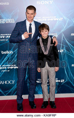 MAX CHARLES THE AMAZING SPIDER-MAN. WORLD PREMIERE LOS ...