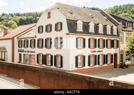 METTLACH, GERMANY - 6TH Aug 17:  Bassetti is a major factory outlet that sell designer brands that includes Laura - Stock Photo