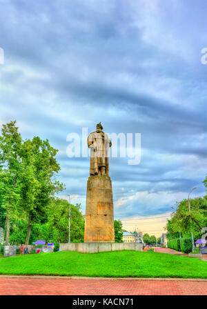 Monument to Ivan Susanin in Kostroma, Russia - Stock Photo