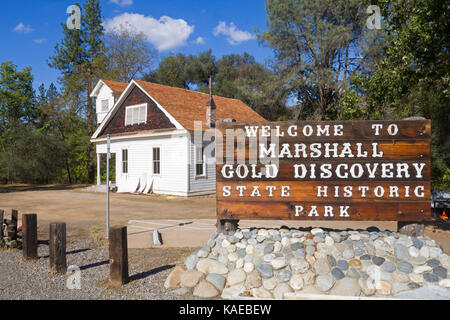 USA, California, Coloma,  Marshall Gold Discovery State Historic Park - Stock Photo