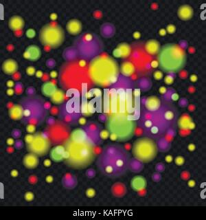 Bokeh light effect - Stock Photo