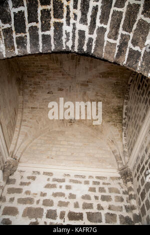 the Crusader Church of St. Anne in Zippori (Sepphoris), Lower Galilee, Israel - Stock Photo