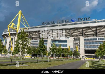 Signal Iduna Park, BVB Soccer Stadium, Dortmund, Ruhr Area, North Rhine-Westphalia, Germany