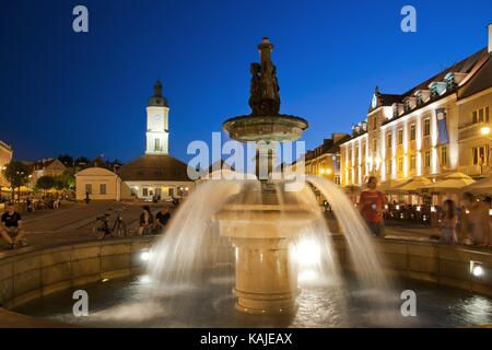 Bialystok - the largest city in northeastern Poland and the capital of the Podlaskie Voivodeship. - Stock Photo