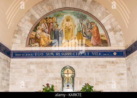 Mosaic in Lazarus Church - Stock Photo