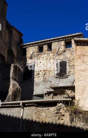Village de Cotignac Provence Verte / Provence Alpes Cote D'Azur, Var France 83 - Stock Photo