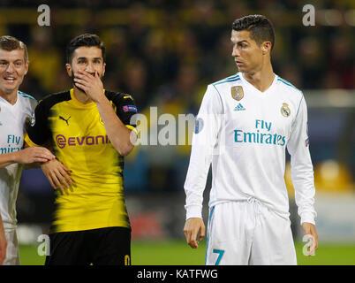 Dortmund, Germany, UEFA - Champions League, International, Borussia Dortmund : Real Madrid  1-3  on 26.09 .2017 - Stock Photo