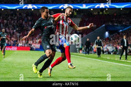 Madrid, Spain. 27th Sep, 2017. during the football match of group stage of 2017/2018 UEFA Europa League between - Stock Photo