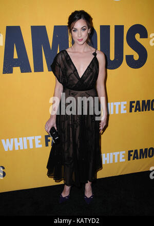 West Hollywood, CA, USA. 27th Sep, 2017. Lyndon Smith. World premiere of Showtime's ''White Famous'' held at The - Stock Photo