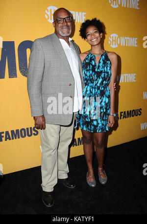 West Hollywood, CA, USA. 27th Sep, 2017. Buddy Lewis. World premiere of Showtime's ''White Famous'' held at The - Stock Photo