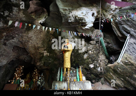 Asia, South-East Asia, Laos, Centrally Laos, Tha Khaek, Buddha Cave, pit, - Stock Photo