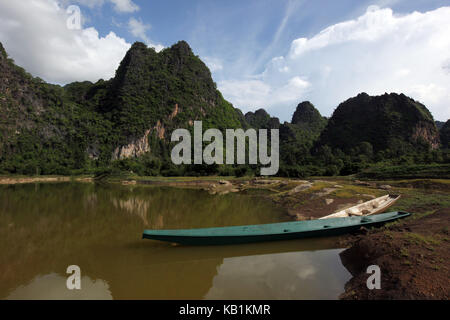 Asia, South-East Asia, Laos, Centrally Laos, Tha Khaek, street 12, The loop, Khammuan, Mahaxai May, - Stock Photo